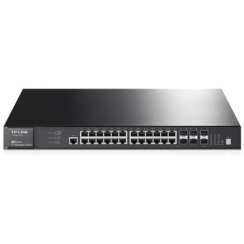 Switch Jetstream 52 Porte L3 / 48 x 10/100/1000 Gigabit Ethernet + 4 x Gigabit SFP Colore...