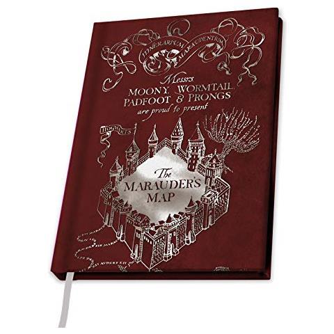 ABYSTYLE Harry Potter - Taccuino A5 - Mappa Del Malandrino