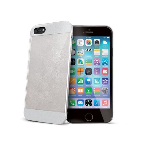 CELLY Cover Glitter per iPhone 6 - Bianco