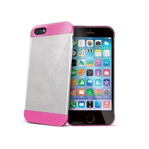CELLY Cover Glitter per iPhone 6 - Fuxia