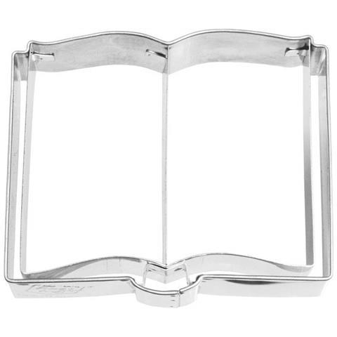 Tagliapasta In Metallo Libro 7,5 Cm