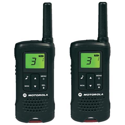 Motorola TLKR T60 2 Pack, Nichel-idruro di metallo (NiMH), 55 x 30 x 165 mm, 103g