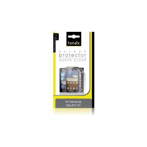 FONEX Pellicola Protettiva Ultra Trasparente per Galaxy S7 (2Pz)