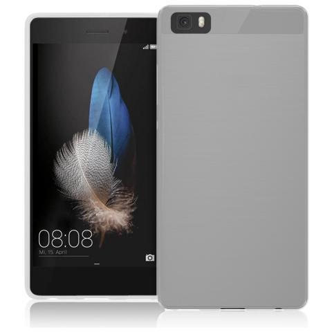 FONEX Inv Cover Ultra Sottile 0,2 mm in Morbido TPU per Huawei P8 Lite Colore Trasparente