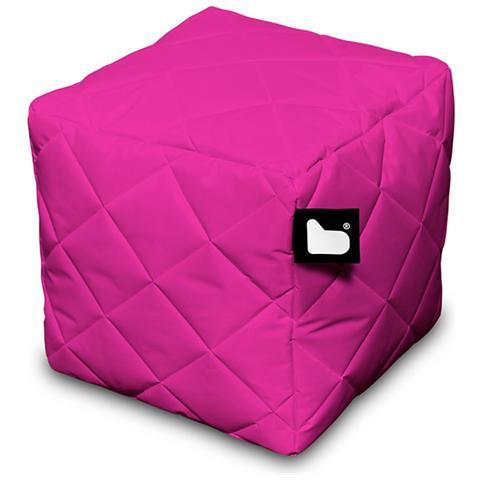 B-BAG Pouf Outdoor B-box Pink Trapuntato