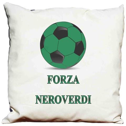 Cuscino Decorativo Nero Verdi 1
