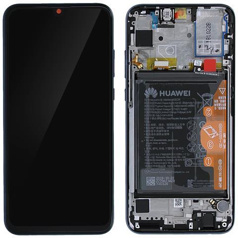 Image of Schermo Lcd Honor 10 Lite Touch Screen Batteria 3400 Mah Originale Blu