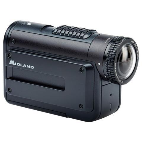 MIDLAND Action Cam XTC-400 Sensore 12 Mpx Full HD Wi-Fi Stabilizzatore Digitale Impermeabile