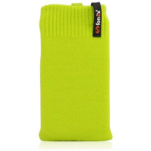 FONEX Feet Plus Fondina in Cotone Elasticizzato Taglia M Colore Verde