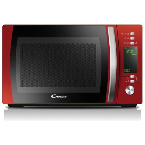 Forno a Microonde+Grill CMXG20DR Capacità 20 Litri Potenza Massima 700+Potenza Grill 1000 Watt Colore Rosso