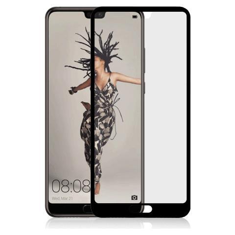 FONEX SCREEN GLASS 2,5D 0,33 MM. PER HUAWEI P20 BLACK (1 PZ)