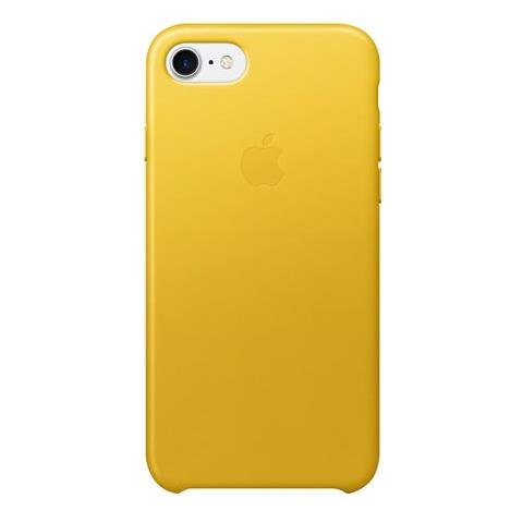 APPLE Cover in Cuoio per iPhone 7 colore Giallo