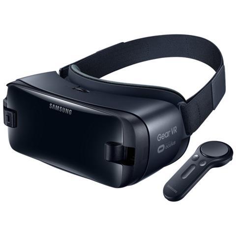 SAMSUNG Gear VR Visore di Realtà Virtuale con Controller per Galaxy S8 / S8 Plus e Note8 - Nero