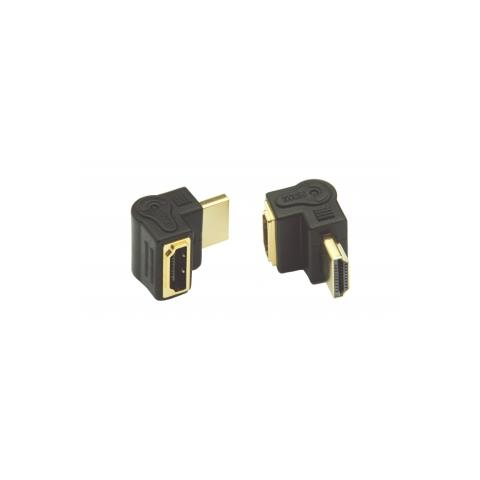GeBL Adattatore HDMI / HDMI a 90° Colore Nero