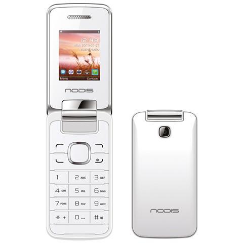 NODIS NC-20 Bianco Dual Sim Display +Slot MicroSD Bluetooth e Radio FM