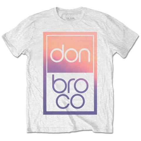 ROCK OFF Don Broco - Gradient White (T-Shirt Unisex Tg. S)