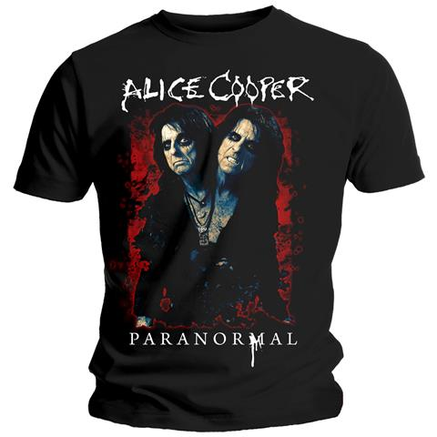 ROCK OFF Alice Cooper - Paranormal Splatter (T-Shirt Unisex Tg. L)