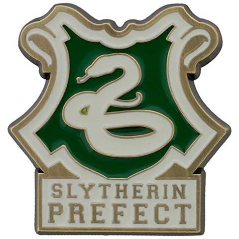 HALF MOON BAY Harry Potter Pin Del Distintivo Di Smalto Serpeverde Casa Prefetto