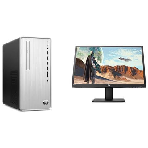 Image of Pc Desktop Pavilion TP01-0020nl Intel Core i3-9100F Quad Core 3.6 GHz Ram 8GB SSD 256GB Nvidia GeForce GT 1030 2GB 5xUSB 3.0 Windows 10 Home + Monitor gaming 22x