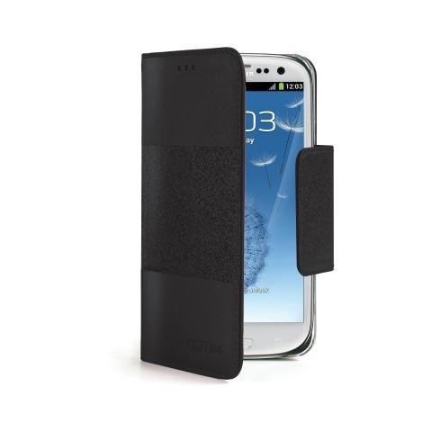 CELLY GLAGES3BK Custodia Agenda per Samsung Galaxy S3 Colore Nero