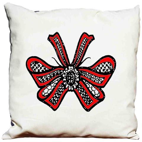 Cuscino Decorativo Fiocco