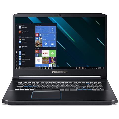 Image of Notebook Predator Helios 300 PH317-53-785Z Monitor 17,3'' Full HD Intel Core i7-9750H Ram 16 GB Hard Disk 1 TB SSD 256 GB Nvidia GeForce GTX 1660Ti 6 GB 4xUSB 3.0 Windows 10 Home