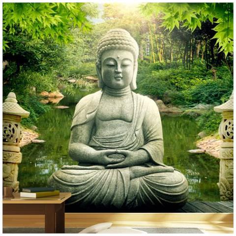 Image of Fotomurale Giardino Di Buddha