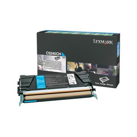 Image of 00C5240CH Toner Originale Ciano per Lexmark C532dn Capacit