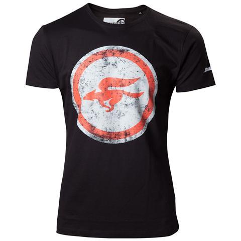 BIOWORLD Nintendo - Black Starfox Black Logo (T-Shirt Unisex Tg. S)