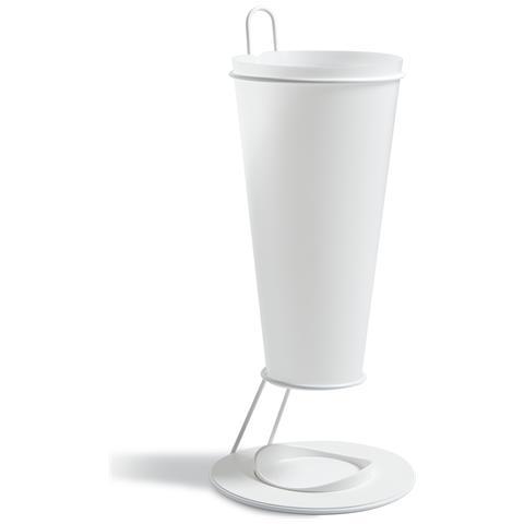 Emporium Portaombrelli Pluviopolipropilene Bianco Componenti D'arredo Design
