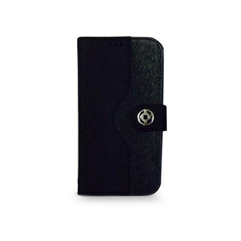 CELLY Custodia a Portafoglio per iPhone 4s - Colore Nero