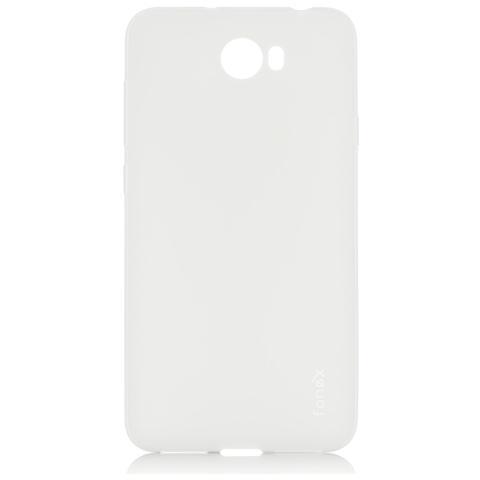 FONEX Inv Cover Ultra Sottile 0,2 mm in Morbido TPU per Huawei Y5 II / Y6 II Compact Colore Trasparente