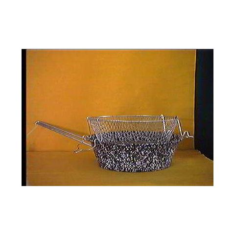 Friggitrice Ferro / porcellana Con Cestello 24sct Preparazione