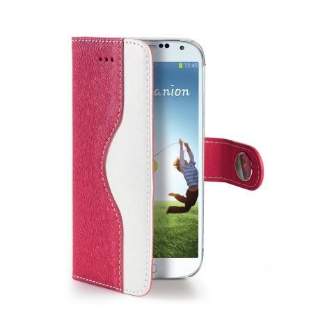 CELLY Cover per Galaxy S4 - Rosa
