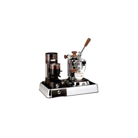 Macchina da Caffè Professional PLH + Macinacaffè JDL + Base Cromata