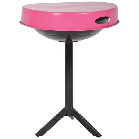 Griglia Da Tavolo A Carbonella Acciaio Rosa Ff250