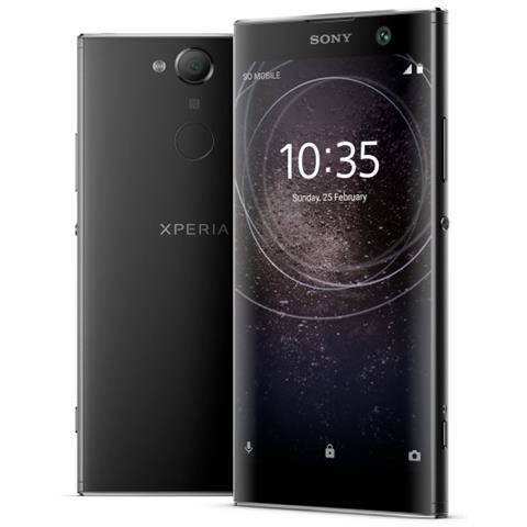 "SONY Xperia XA2 Ultra Nero 32 GB 4G / LTE Dual Sim Display 6"" Full HD Slot Micro SD Fotocamera 23 Mpx Android Italia"
