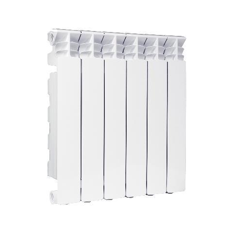 Radiatore In Alluminio Exclusivo H 800 Fondital 6 Elementi