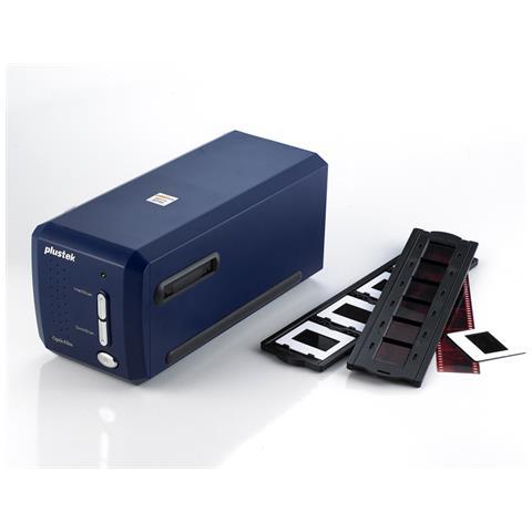 OpticFilm 8100, 36,8 x 25,4 mm, 7200 x 7200 DPI, Film / slide, Blu, CCD, LED