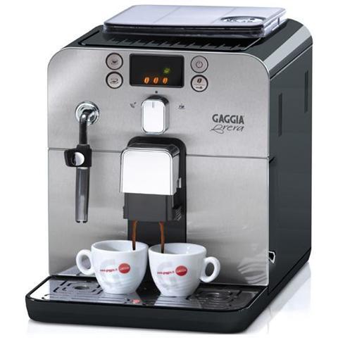 BRERA Macchina Caffè Espresso Serbatoio 1,2 Litri Potenza 1400 Watt Colore Nero