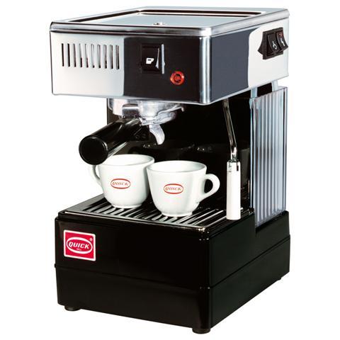 0820B Macchina da Caffè con Portafiltro in Ottone Nero