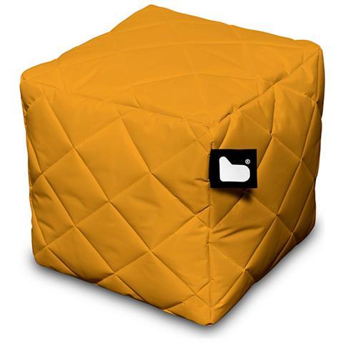 B-BAG Pouf Outdoor B-box Orange Trapuntato