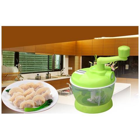 Attrezzo Cucina Multifunzione Affetta Frutta Verdura Taglia Trita Food Cutting
