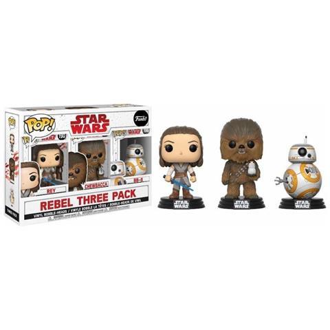 FUNKO Pop Rebel Three Pack - Star Wars