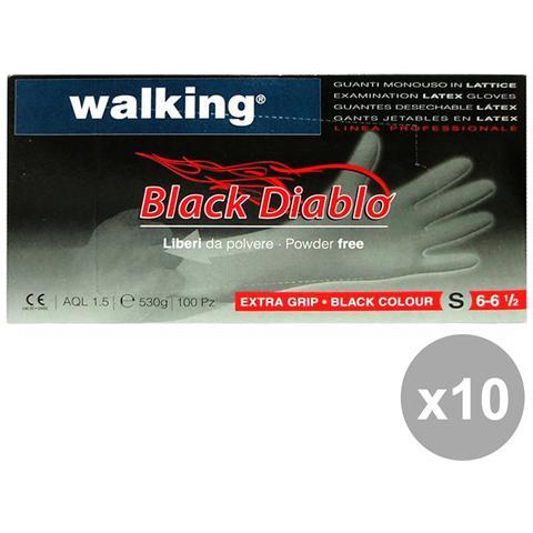 Walking Set 10 X 100 Blackdiablo S Lattice 010391 - Giardinaggio