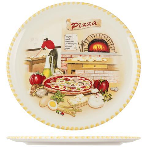 HOME Piatto Pizza Ceramica Cm30 Piatti Da Tavola