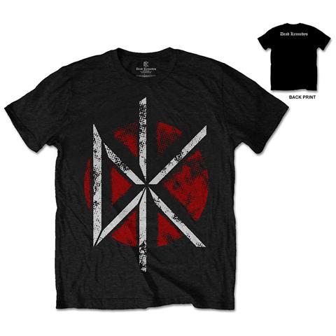 ROCK OFF Dead Kennedys - Vintage Logo (T-Shirt Unisex Tg. XL)