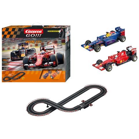 Carrera - Set Di Macchinine Da Corsa Go Win It Rosso E Blu 62392 ...