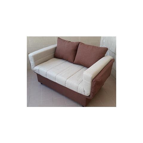 capodarte divano letto prontoletto in tessuto beige