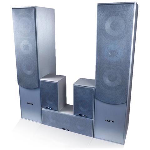 Image of Tutti I 5 Altoparlanti Hi-fi / Home Theater 850 W Ltc